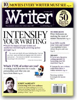 Article in The Writer, November 2007